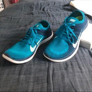 Men's Nike Free Flyknit 4.0 running shoe
